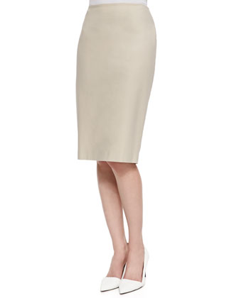 Sari Sleeveless High-Low Blouse & Modern Slim Skirt