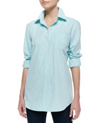 Fitted Oxford Shirt