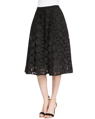 Contrast Pattern Embellished Shell & Dolce Vita Big & Little Spheres Skirt ...