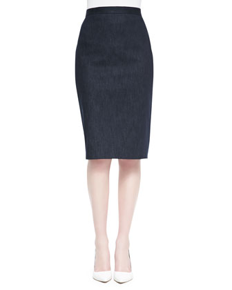 Super Jean Pencil Skirt