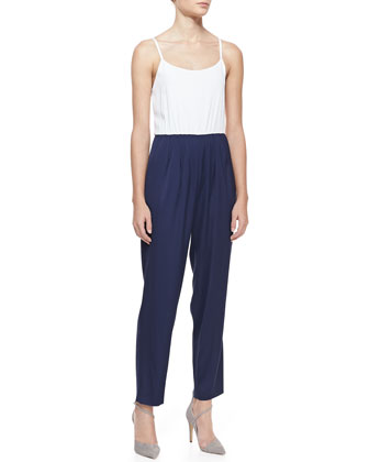 Harlan Two-Tone Jumpsuit