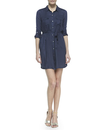 Wila Denim Shirtdress