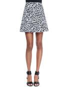 Lonati Pescara Printed Skirt