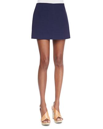 Keeta Crepe Miniskirt