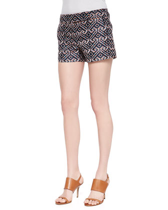 Corbin Printed Sateen Shorts
