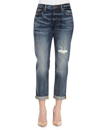 Melville Boyfriend Cuffed Jeans, Midmania