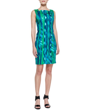 Davis Bay Print Dress
