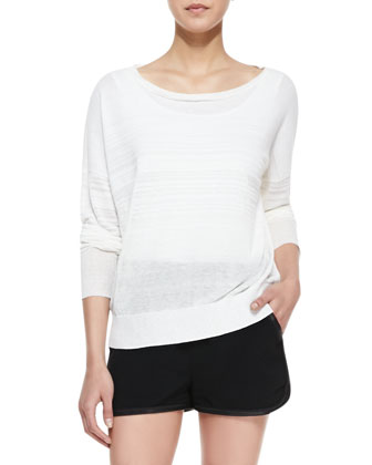 Denise Bateau-Neck Sweater