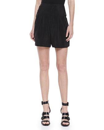 Pioto Fietra Pleated Shorts