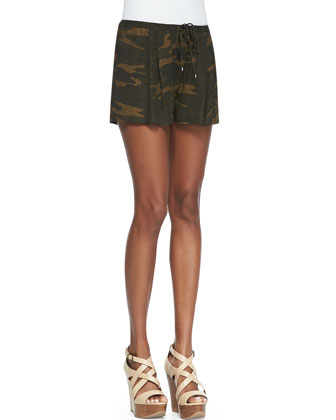 Drapey Crepe Vest, I'm Not Confused Tank & Abstract Camo Summer Shorts ...