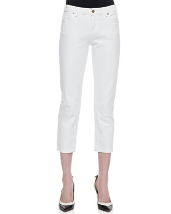 broome street capri pants, fresh white