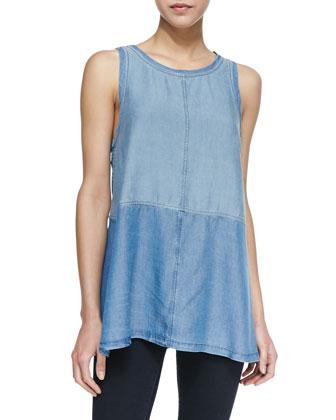 Benton Chambray Tank Top