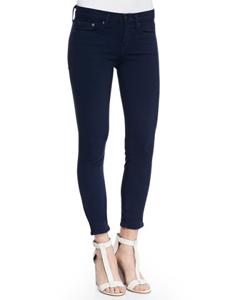 Riley Lightweight Legging Jeans, Coastal