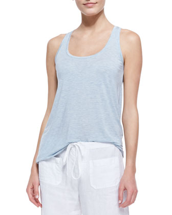 Scoop-Neck Racerback Tank