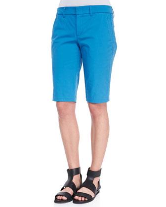 Twill Bermuda Shorts, Cote d'Azure