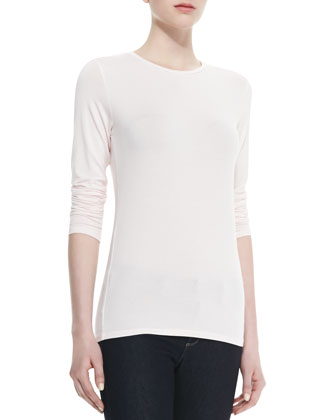 Long-Sleeve Soft Touch Tee