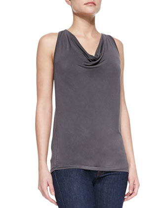 Extrafine Soft Touch Draped Tank