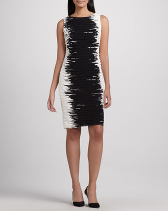 Faith Georgette Contour Dress