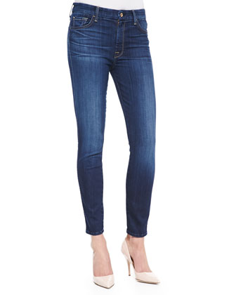 High-Rise Ankle Skinny Malibu Coast Denim Jeans