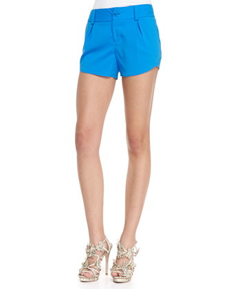 Butterfly Rounded Pleated Shorts