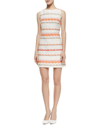 Eli Knit Boat-Neck Dress