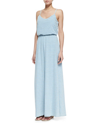 Venice Striped Dyed Maxi Dress