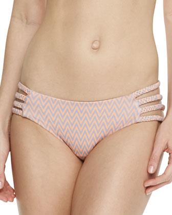 Shyla Side-Cutout Swim Bottom