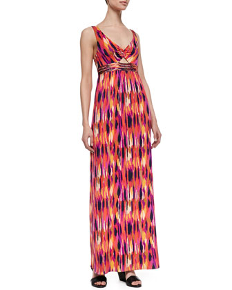 Margery Printed Maxi Dress