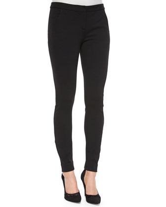 Jessie Silk Cutout-Straps Tank Top & Harmony Stretch-Knit Leggings