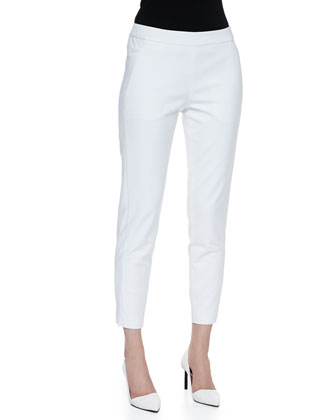 Crosby Bi-Stretch Slim Ankle Pants