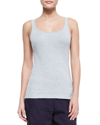 Organic Cotton Slim Long Tank