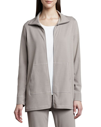 Organic Cotton Zip Jacket