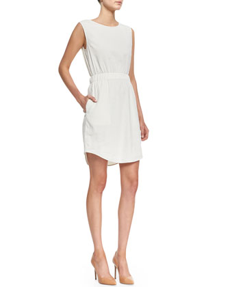 Crunch Sleeveless Easy-Waist Dress
