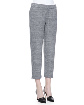 Abundant Stretch-Knit Pull-On Pants