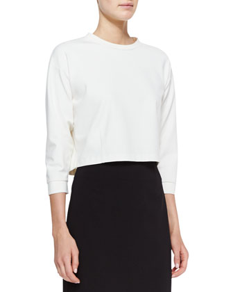 Rhin Erez Crop Top and Rhin Austell Pencil Skirt