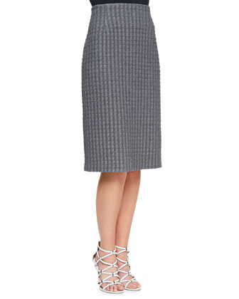 Ovar Tilma B Short-Sleeve Top and Ovar Austell Pencil Skirt