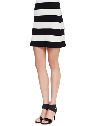 Prosecco Harmona S Striped Crop Top and Prosecco Holeen S Striped Skirt ...