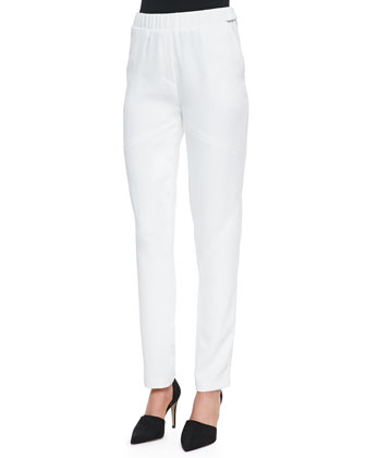 Ara Stretch-Waist Straight Pants