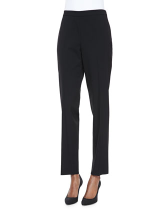 Bleecker Cropped Pants, Black