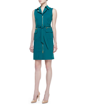 Starla Sleeveless Belted Dress