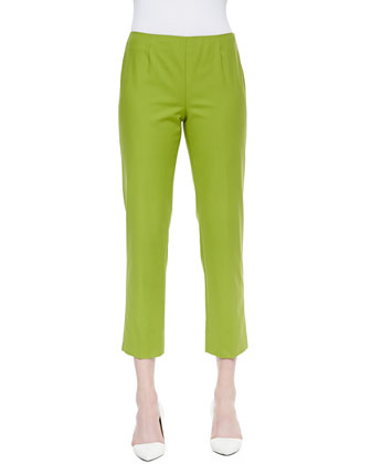 Bleecker Cropped Pants, Bamboo