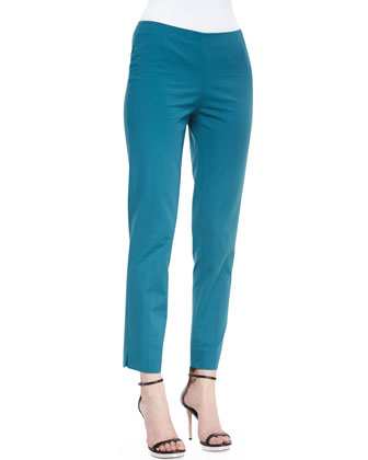 Bleecker Cropped Pants, Rainforest