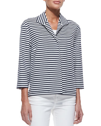 Armada-Striped Topper Jacket