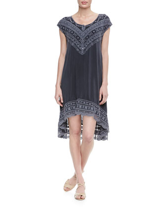Bella Henley High-Low Dress