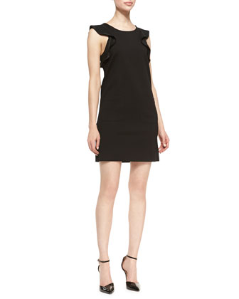 Sophia Crepe Sleeveless Dress