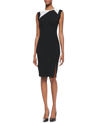 Dayton Short-Sleeve Sheath Dress