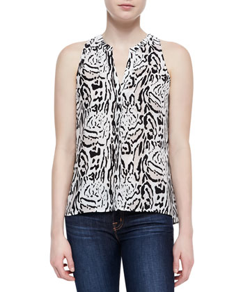 Arlina Silk Tank Top