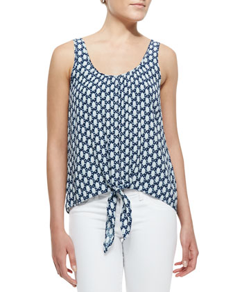 Rada Sleeveless Tie Tank Top