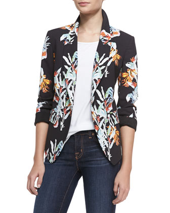 Arelia Maui One-Button Jacket
