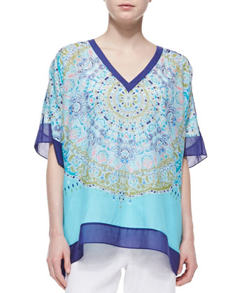 May Pen Medallion Tunic